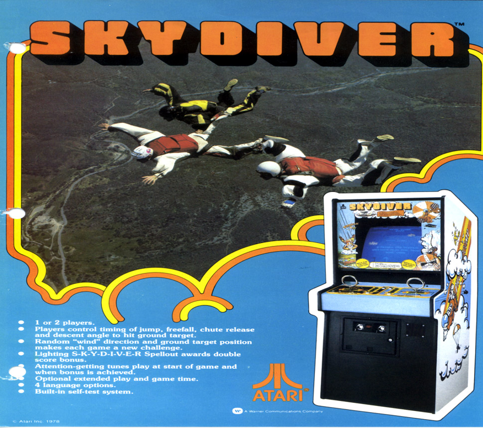Atari Skydiver Game