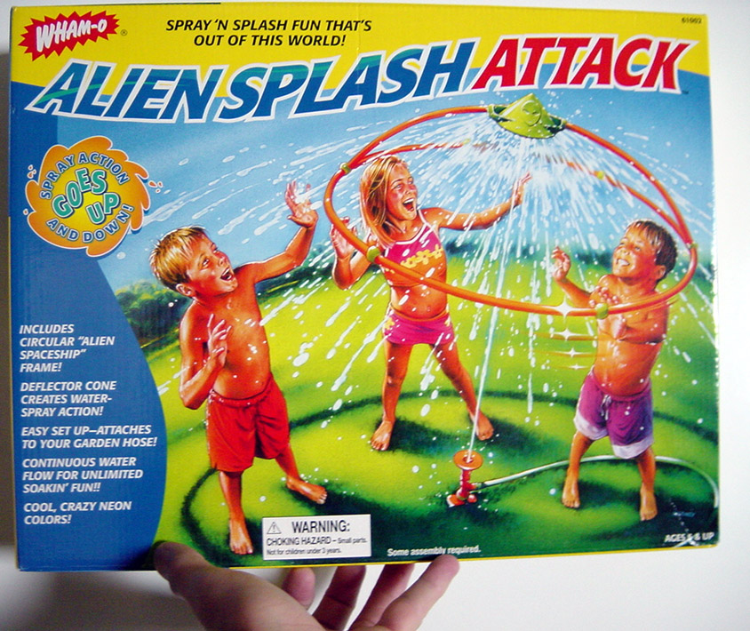 Alien Splash Attack, the latest product on the market from Sierra Innotek