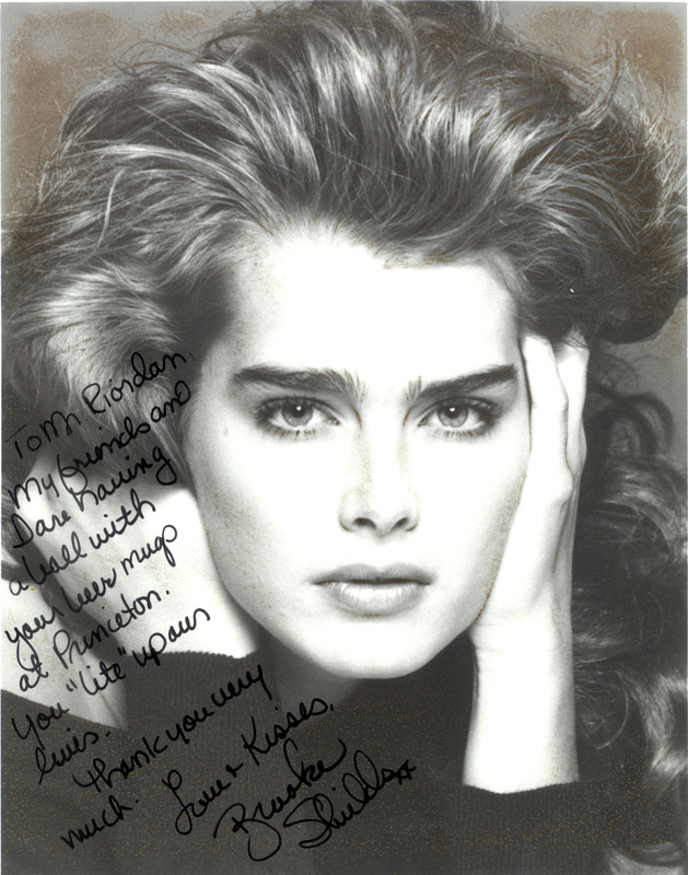 Brooke Shields thanks us for the Light Beer Mug