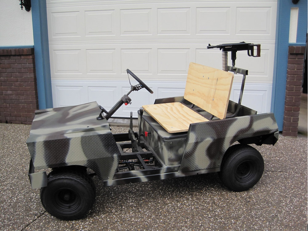 "Another product designed for submission to DARPA. This unique vehicle was designed to sniff out"" and destroy roadside EIDs."