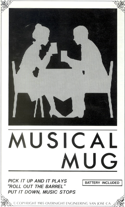 Musical Mug box first design