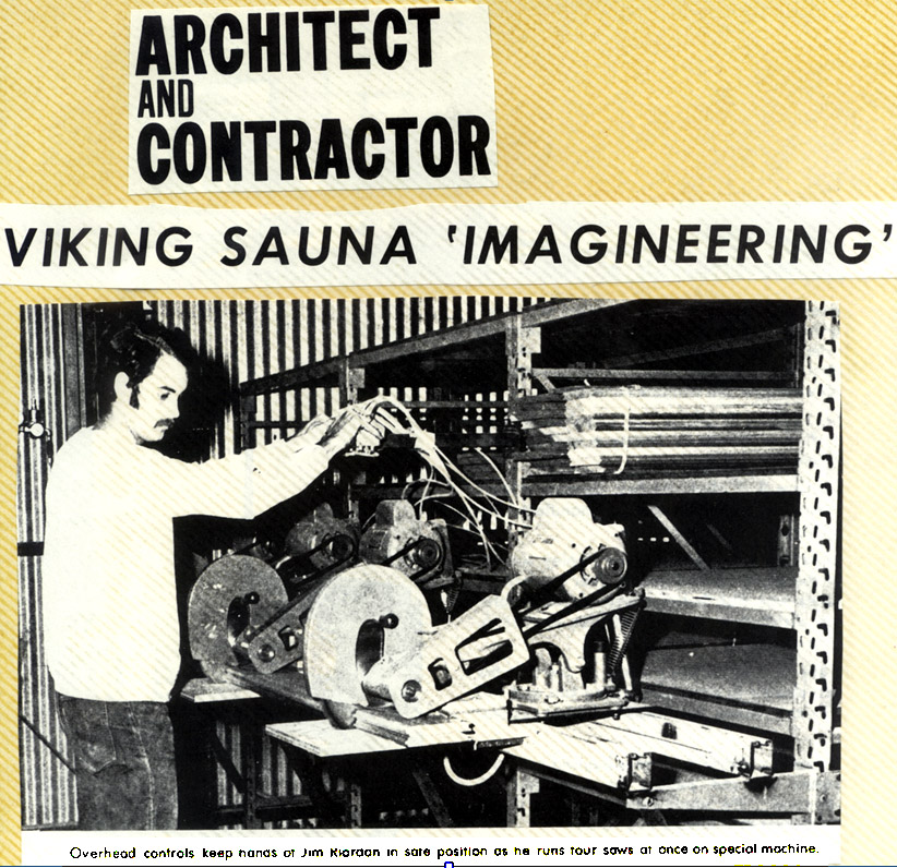 Viking Sauna 'Imagineering'
