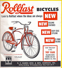 1956 Rollfast Bike like my first one