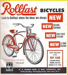 1956 Rollfast Bike like my first one